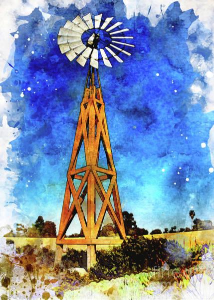 Photograph - Windmill by Mark Jackson