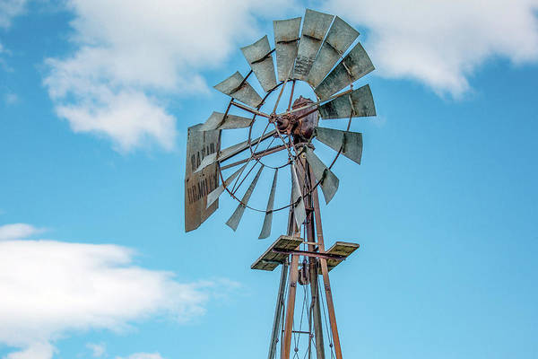 Photograph - Windmill Top by Todd Klassy