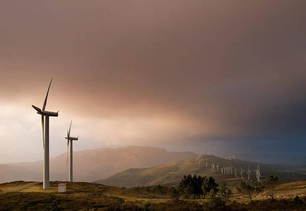 Wall Art - Photograph - Windmills by Juan R. Fabeiro