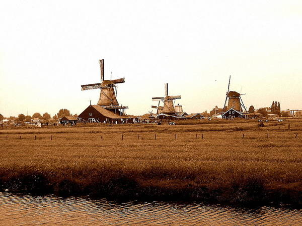 Photograph - Windmills Of Holland by Chance Kafka