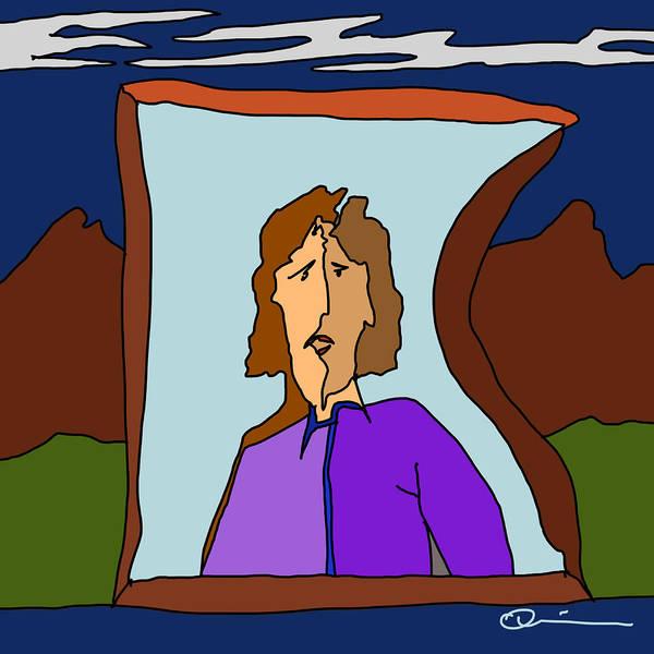 Digital Art - Window 2 by Jeff Quiros
