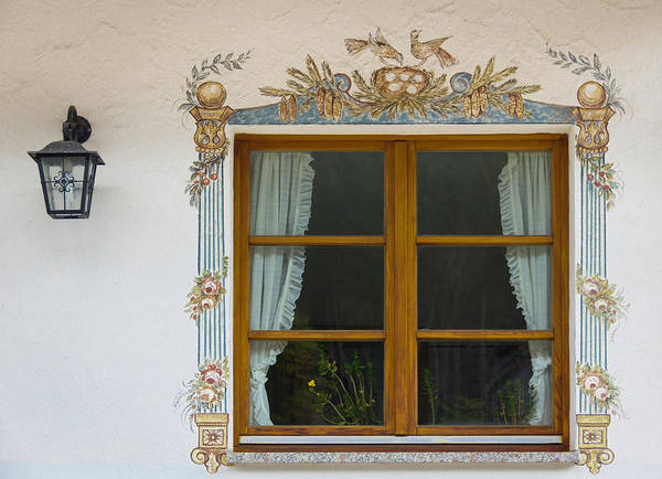 Wall Art - Photograph - Window At Hofgut Sternen by Teresa Mucha