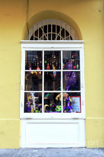 Photograph - Window Coming Alive In New Orleans by John Rizzuto