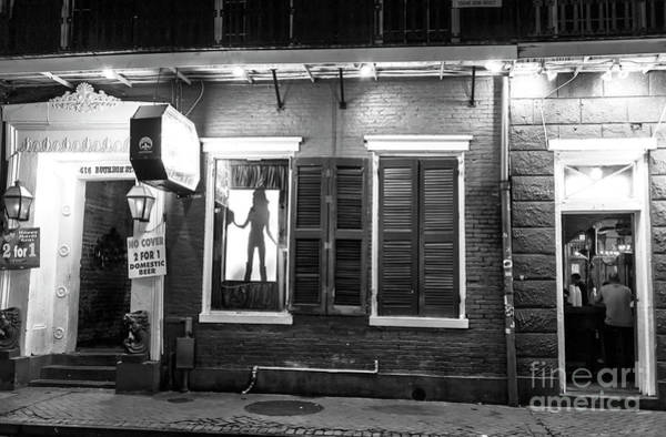 Wall Art - Photograph - Window Dancer On Bourbon Street At Night by John Rizzuto