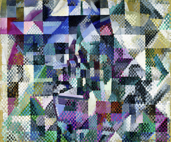 Wall Art - Painting - Window On The City No.3 - Digital Remastered Edition by Robert Delaunay