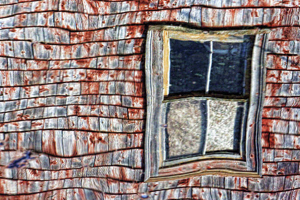 Wall Art - Photograph - Window Reflection by Amanda White