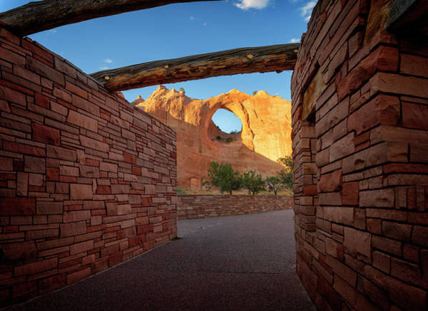 Wall Art - Photograph - Window Rock by Ricky Barnard
