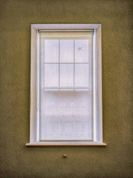 Photograph - Window Shade by Paul Wear