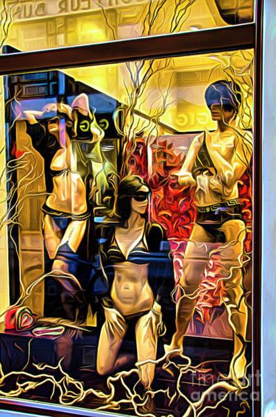 Digital Art - Window Shopping by Brian Tarr