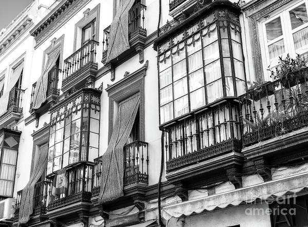 Photograph - Window Sizes In Seville by John Rizzuto