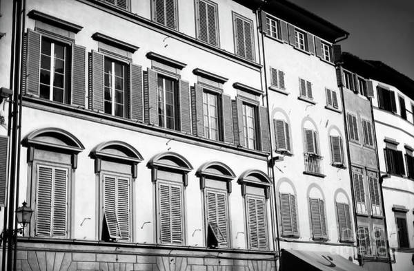 Photograph - Window Style In Florence by John Rizzuto