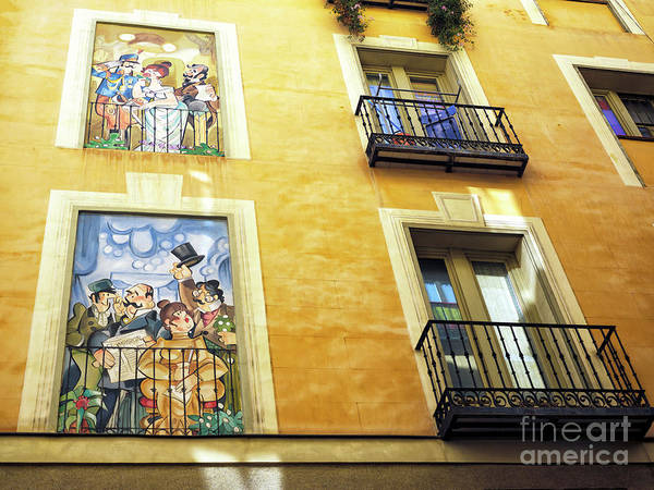 Photograph - Window Style In Madrid by John Rizzuto