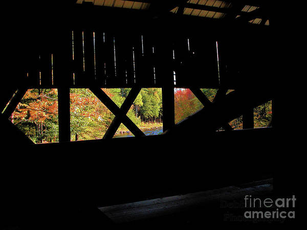 Photograph - Window To Fall by Debbie Stahre