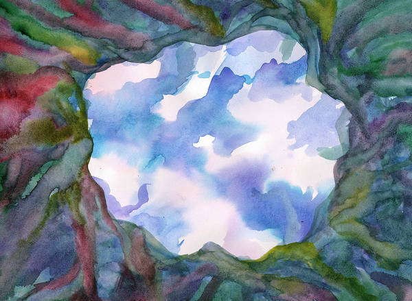 Painting - Window To Heaven by Irina Dobrotsvet