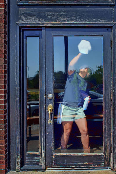Wall Art - Photograph - Window Washing by Nikolyn McDonald