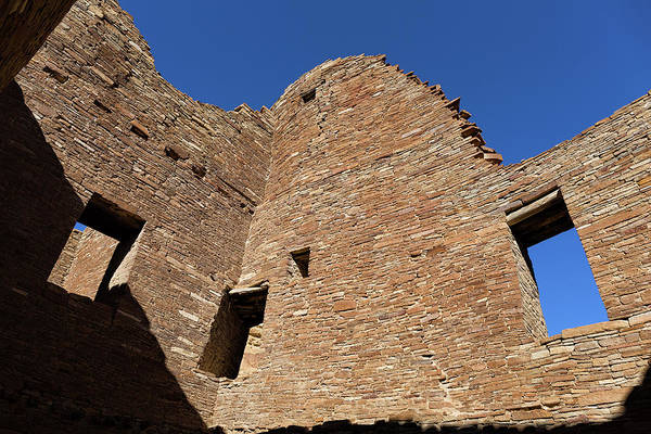 Wall Art - Photograph - Windows In A Chacoan Great House  by Kathleen Bishop