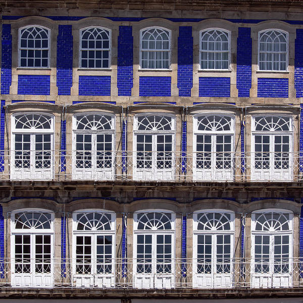 Photograph - Windows In Blue by Edgar Laureano