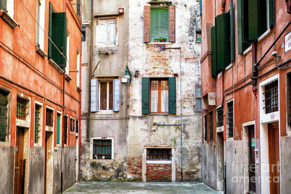 Photograph - Windows In Venezia 2015 by John Rizzuto