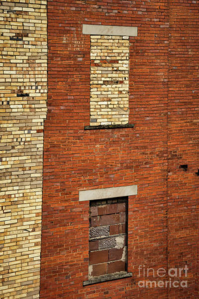 Photograph - Windows Of Brick by Janice Pariza