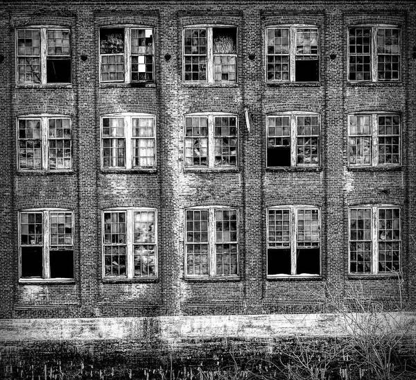 Windows Of Old Claremont Art Print
