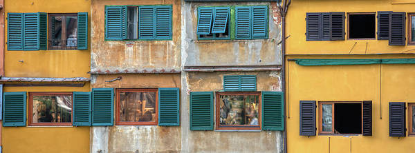 Wall Art - Photograph - Windows Of  Ponte Vecchio by David Letts