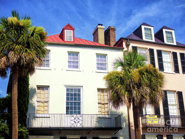 Photograph - Windows On East Bay Street In Charleston by John Rizzuto