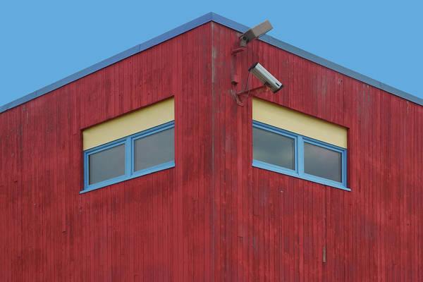 Wall Art - Photograph - Windows - Primary Colors by Nikolyn McDonald