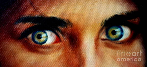 Painting - Windows To The Soul by Georgia's Art Brush