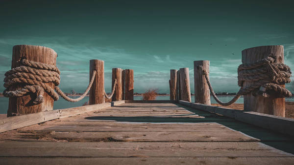 Windsor Wall Art - Photograph - Windsor Lake Dock by Christopher Thomas