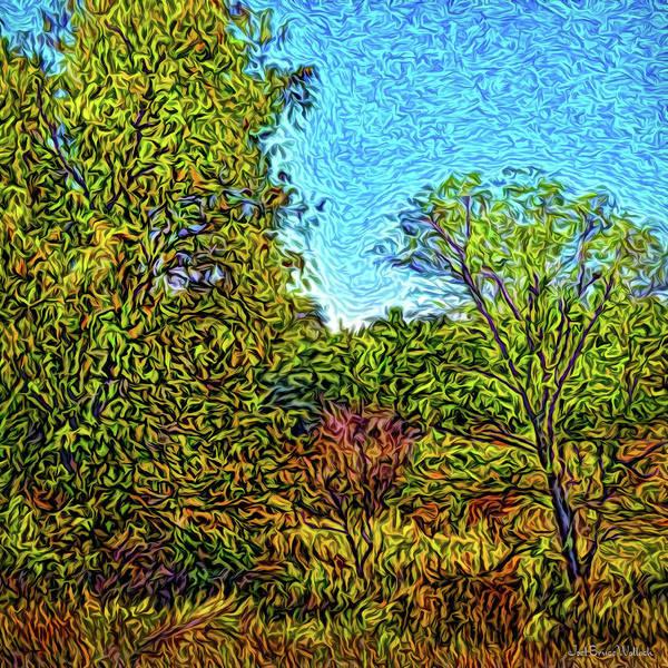 Digital Art - Windswept Natural Flow by Joel Bruce Wallach