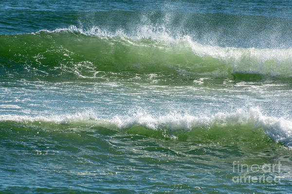 Photograph - Windswept Waves by Ruth H Curtis