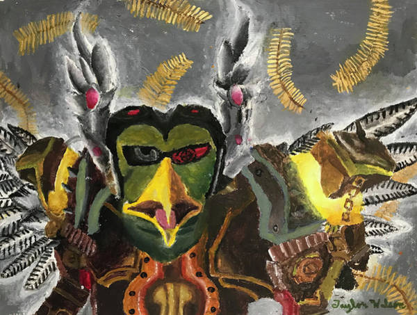 World Of Warcraft Wall Art - Painting - Windwing Gobmech by Taylor Wilson