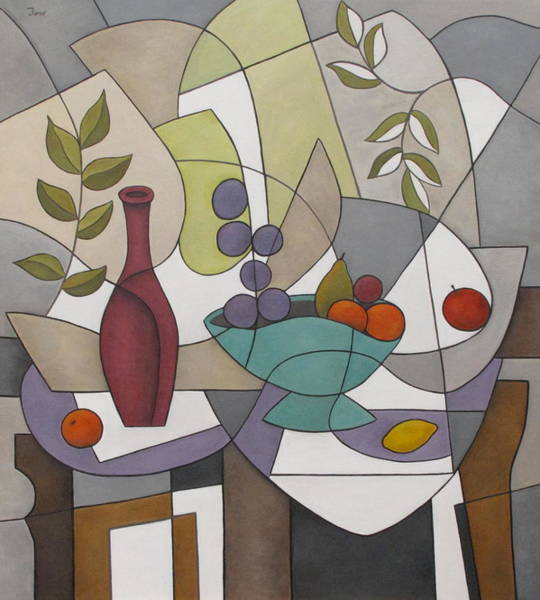 Painting - Wine And Fruit by Trish Toro