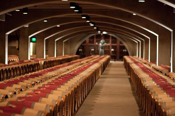 Napa Valley Photograph - Wine Cellar In Napa Valley California by Pgiam