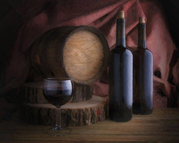 Wineglass Wall Art - Photograph - Wine Cellar Still Life by Tom Mc Nemar