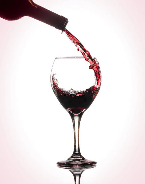 Wall Art - Photograph - Wine Pour by Brian Caldwell
