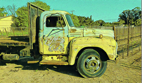 Photograph - Wine Truck At Peacock Cellars by Floyd Snyder