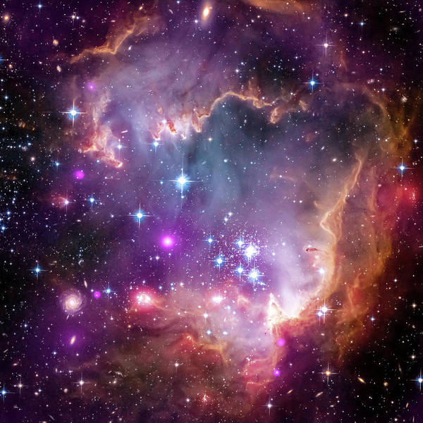 Photograph - Wing Of The Small Magellanic Cloud by Adam Romanowicz