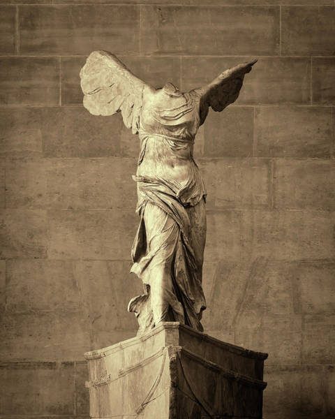 Wall Art - Photograph - Winged Victory Of Samothrace - #10 by Stephen Stookey