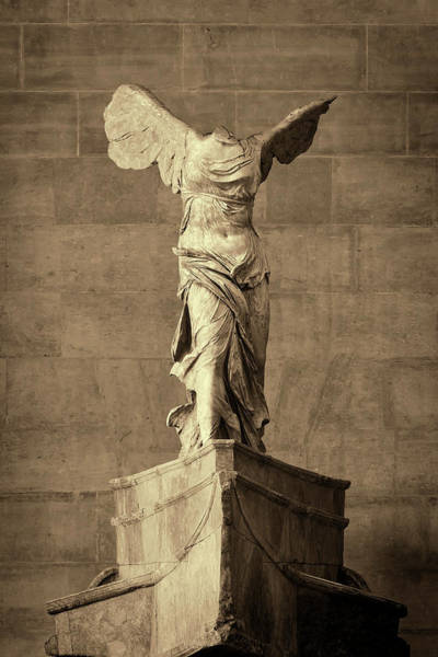 Wall Art - Photograph - Winged Victory Of Samothrace - #10a by Stephen Stookey