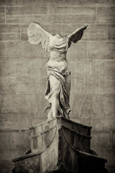 Wall Art - Photograph - Winged Victory Of Samothrace - #12 by Stephen Stookey