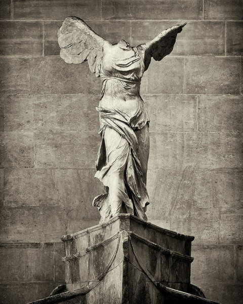Wall Art - Photograph - Winged Victory Of Samothrace - #7 by Stephen Stookey