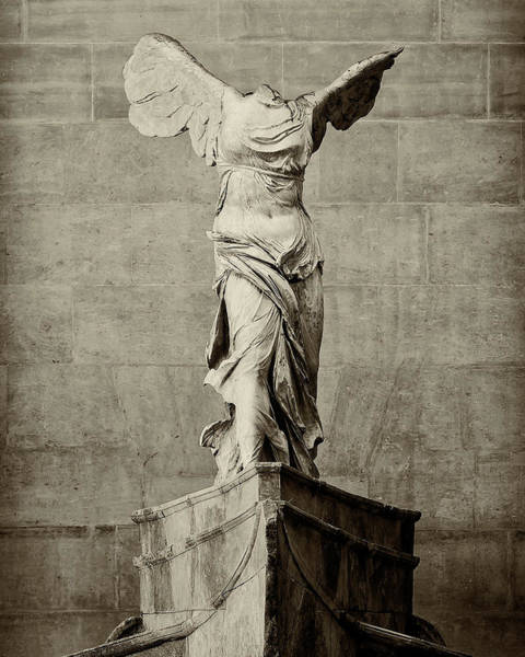 Wall Art - Photograph - Winged Victory Of Samothrace - #8 by Stephen Stookey