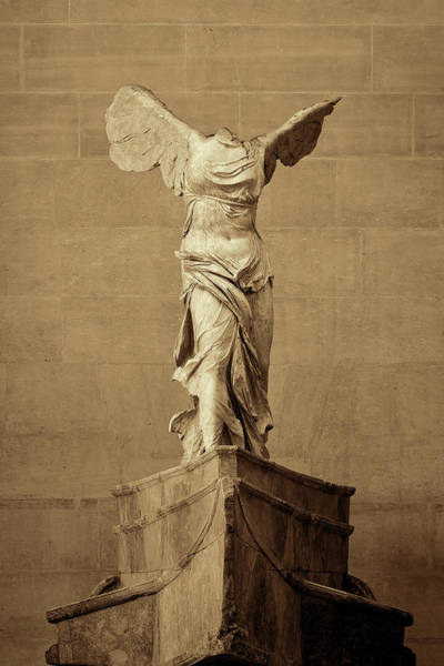 Wall Art - Photograph - Winged Victory Of Samothrace - #5 by Stephen Stookey