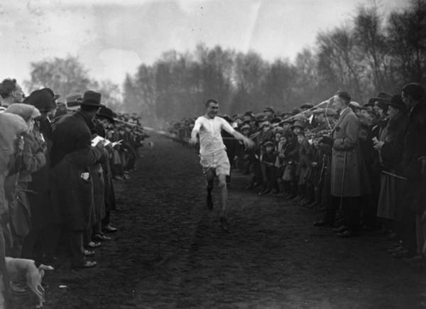 1923 Photograph - Winning Race by Topical Press Agency
