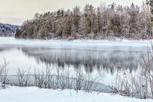 Photograph - Winter At Green Lakes by Rod Best