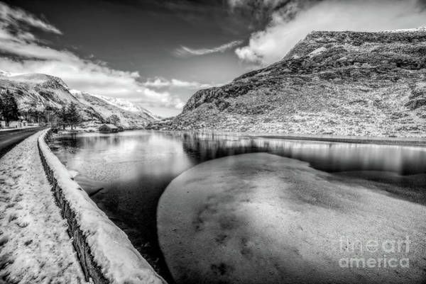 Wall Art - Photograph - Winter At Ogwen Lake by Adrian Evans