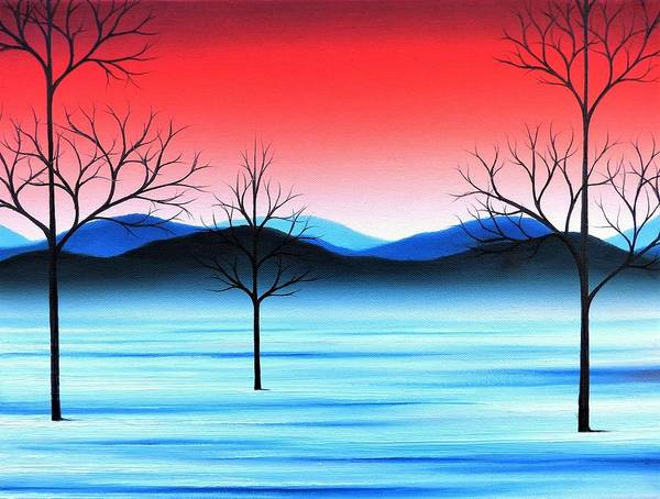 Wall Art - Painting - Winter Beckons by Rachel Bingaman