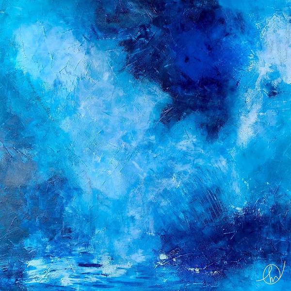Painting - Winter Blues by Monica Martin