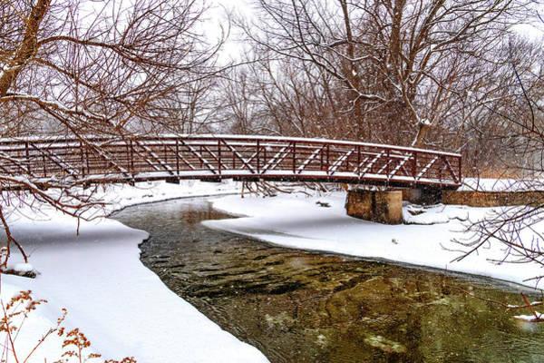 Wall Art - Photograph - Winter Bridge by Steve Harrington